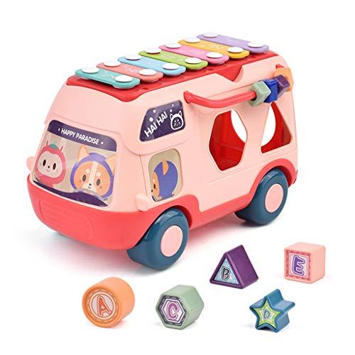 ZJL220 Instrumento musical de juguete para niños Knock Piano Music Bus Sorter Kids Percepción del sonido Early Education Gift