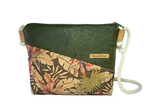 Handmade Korktasche Designwahl Schultertasche Umhängetasche Damen Tasche Handtasche, nachhaltig vegan und fair