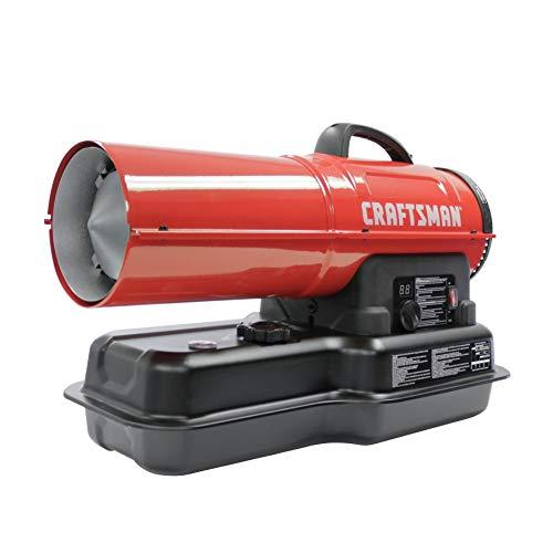 Craftsman CMXEHAO80FAK Forced Air Kerosene Heater, Red