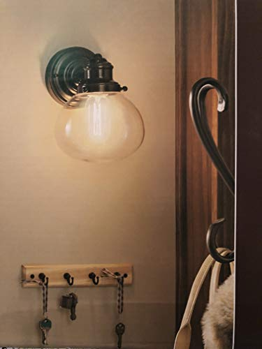 Allen and Roth Wall Sconce Oil Rubbed Bronze 40w Vintage-style Bulb