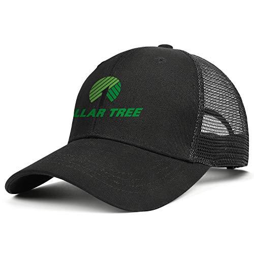 Unisex Baseball Cap Sport Sparkle Dollar-Tree-Logo- Adjustable Mesh Back Trucker Cap Cowboy Hat