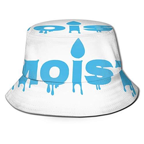 XCNGG Sombrero de Sol Unisex para Hombre y Mujer húmedo, Sombrero de Color sólido, Sombrero de Pescador, Sombrero de Cubo para el Sol, Gorra de Playa Salvaje de Moda, Negro
