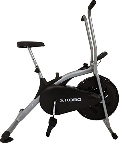 Kobo Exercise Dual Action Bike with Back Rest/Electronic Meter
