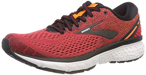 Brooks Ghost 11, Zapatillas de Running para Hombre, Rojo (Red/Black/Orange 677), 44 EU