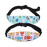SUPVOX Cintura di supporto per la testa Cintura di sicurezza per la cintura di sicurezza regolabile per neonati Cintura di fissaggio per cintura di fissaggio 2PCS