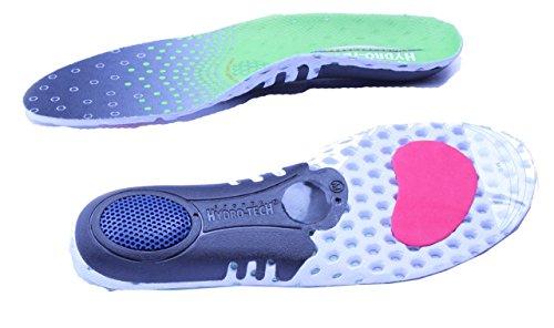 Pro11 Hydro-Tech Sports Plantillas ortopédicas con doble ca