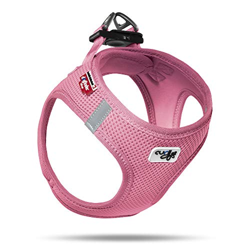 curli Geschirr Vest Air-Mesh, rosa, 2XS