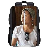 バックパック 小田切ジュン PC ビジネスリュック ラップトップバック 大容量USB充電機能付き旅行防水 通勤 修学 学生 バッグ
