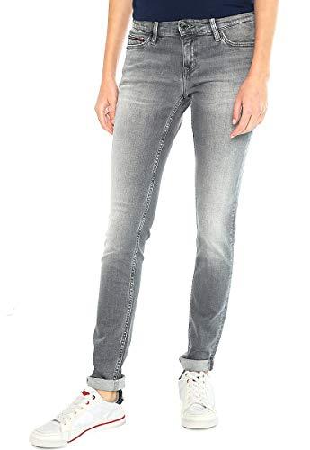 Tommy Jeans Damen Mid Rise Nora Jeanshose, Blau (Marley Grey Str 911), W25/L32