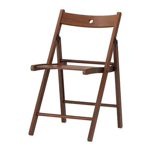 IKEA TERJE–Klappstuhl braun