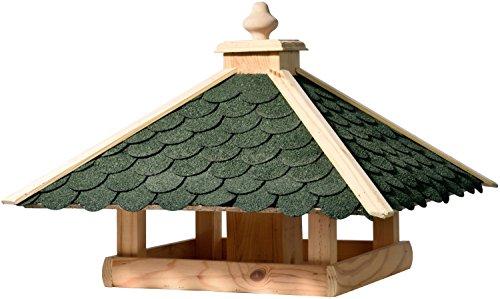 dobar 98540FSCe Klassisches Vogelhaus aus Holz, groß XL, 54 x 54 x 38 cm