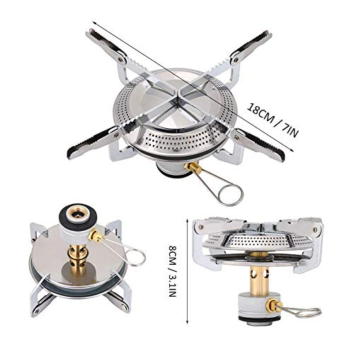 Find Cheap N/X Portable Outdoor Picnic Cooker, Camping Stove Disc Gas Stove Cooker Supplies, Hiking ...