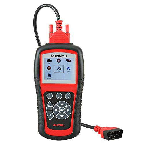 Autel MD diaglink OBD2 Diagnosegerät Code Reader, DIY-Version des MD802, Alle Systeme/Module Diagnose für ABS, SRS, Motor, Getriebe EPB, Öl Reset