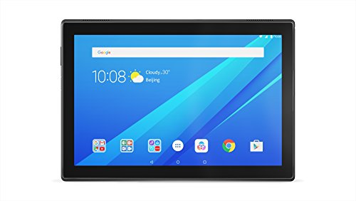Lenovo TAB 4 10 10.1 inches IPS Tablet PC - (Slate Black) (Qualcomm MSM8917 1.4 GHz, 2 GB RAM, Android 7.0)