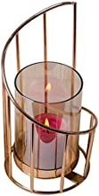 Candlestick Candlestick Decoration Pallet Living Room Entrance Dining Table Glass Cover Candle Holder Romantic Candlelight...