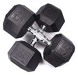 ZHENG Mancuernas Inicio Fitness Formación Personal Estudio Fitness Equipos De Fitness (Color : 45lb)