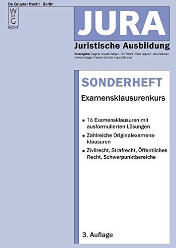 Examensklausurenkurs (Jura-Sonderheft)