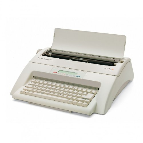 Olympia 252661001 Carrea de luxe MD Schreibmaschine, 10-15 Schriftgröße