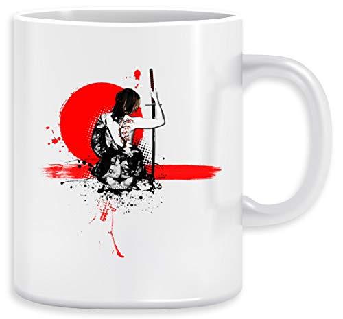 Basura Polca - Hembra Samurai Taza Ceramic Mug Cup