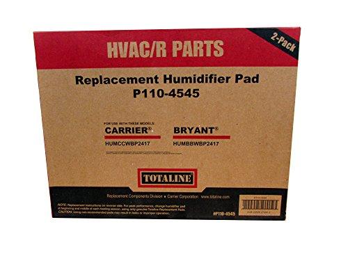 HUMBALBP HUMBBLFP 2-Pack HQRP Filter for Bryant HUMBBLBP HUMBALFP // P110-3545