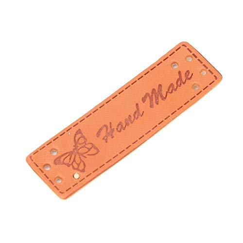 Voluxe Etiquetas de ropa, Ropa de cuero Etiquetas de ropa de adorno Etiquetas para la camisa para la capa (20...