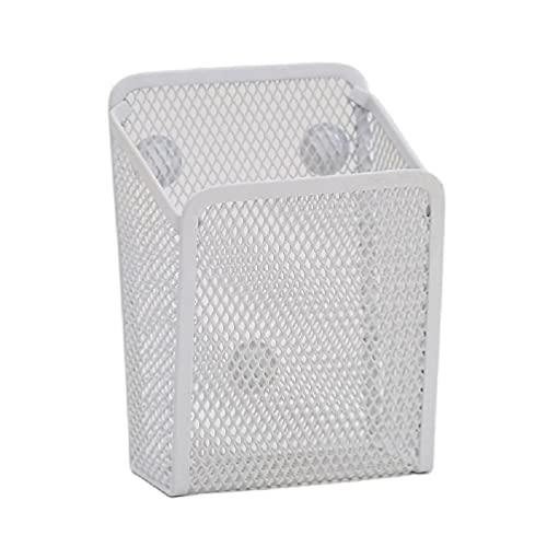 Magnetic Pencil Holder Metal Basket Pen Container Organizer for Refrigerator Magnetic Pen Organizer