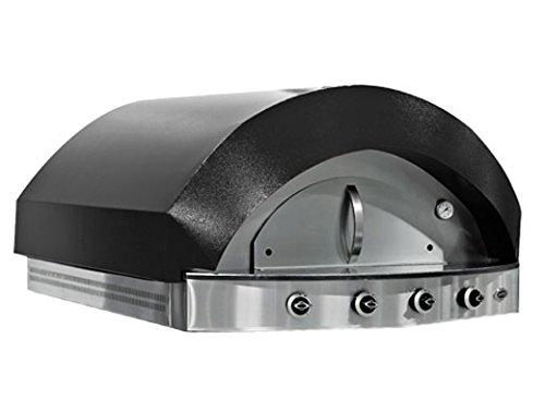 Gas Pizza Ofen - Schwarz