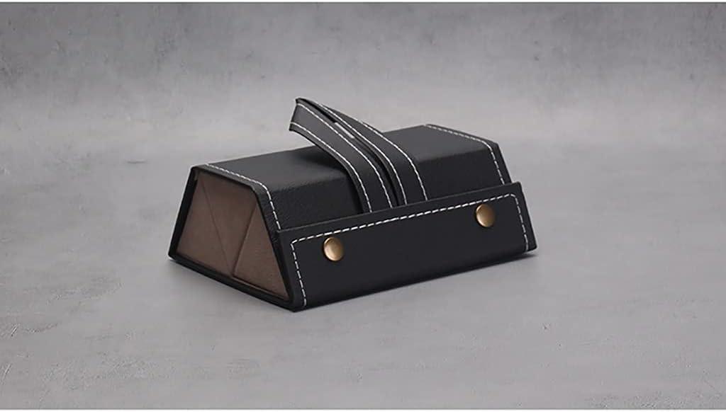 storage box Multi-Slot Travel Sunglasses Case, Foldable PU Leather Sunglass Eyeglasses Travel Organizer Case Women Men, Portable Compact Space Saving Hanging Eyewear Holder Display