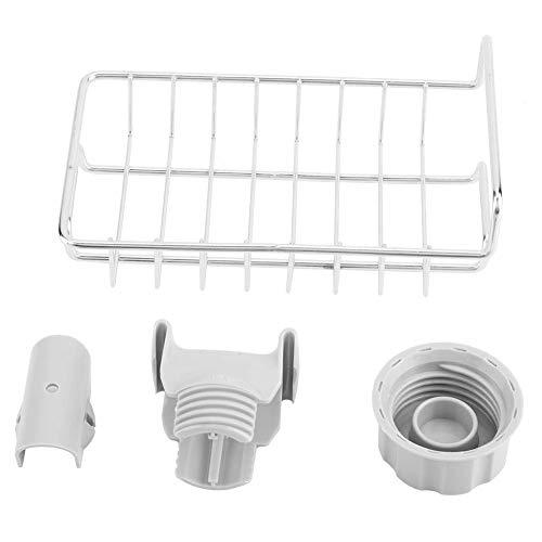 YLLN Estante práctico para grifos de Cocina, Estante Organizador de Almacenamiento con Soporte seco para baño de Cocina.