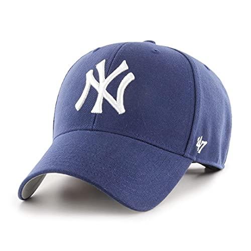 47 Brand MLB New York Yankees MVP Cap - Light Navy, Blue, Taille unique