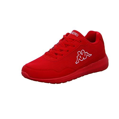 Kappa FOLLOW OC | Freizeit-Sneakers für Frauen und Männer | super-leicht, modisch und zeitlos | angenehmes Tragegefühl | atmungsaktiv, Größe 36 - 462010 red/white, Größe 39