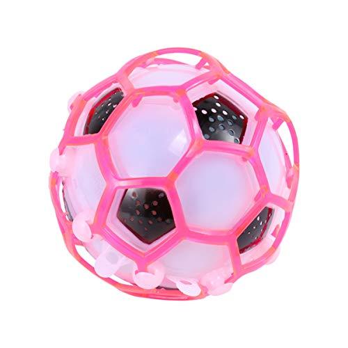 Pixnor Coloré s'allume les balle rebondissante auto clignotant danse enfant jouets de Soccer de l'enfant