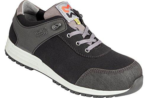 WÜRTH MODYF Sicherheitsschuhe S3 ESD SRC Nature schwarz: Der multifunktionale Schuh ist in Größe 42 erhältlich. Der zertifizierte Arbeitsschuh ist ideal für Lange Arbeitsalltage.