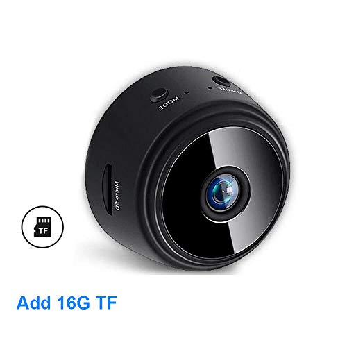 Mini cámara original 1080p IP cámara inteligente de seguridad para el hogar IR noche magnética inalámbrica mini videocámara de vigilancia Wifi cámara
