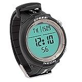 Cressi Neon Wrist Computer Scuba Diving Watch Computer (Black)