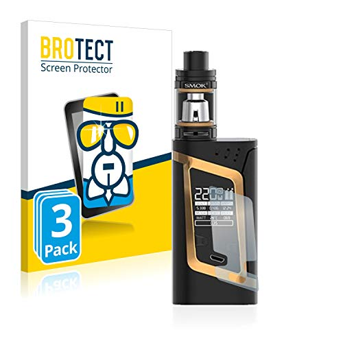 brotect Pellicola Protettiva Vetro Compatibile con Smok Alien 220W (3 Pezzi) Schermo Protezione, Estrema Durezza 9H, Anti-Impronte, AirGlass