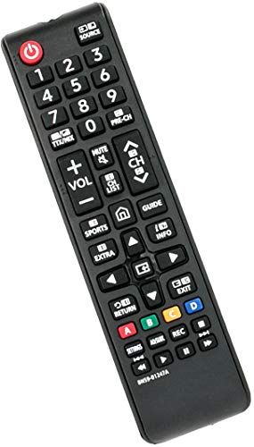 VINABTY Telecomando BN59-01247A per Samsung Smart TV LED UE55KU6500U UA78KS9500W UA88KS9800 UE40KU6000 UE49KU6500U-Non è necessario il seetup