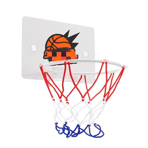 PQXOER Aro de baloncesto mini soporte de baloncesto conjunto interior aro anillo de red colgante cesta baño juguete regalo mejor regalo