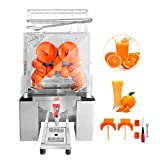 Ankishi Commercial Orange Juicer Machine, Professional Automatic Citrus Juicer Electric Juice Squeezer With faucet, Cold Press Juicer with Bins, lemon juicer, orange juicer, 25-30 oranges per minute