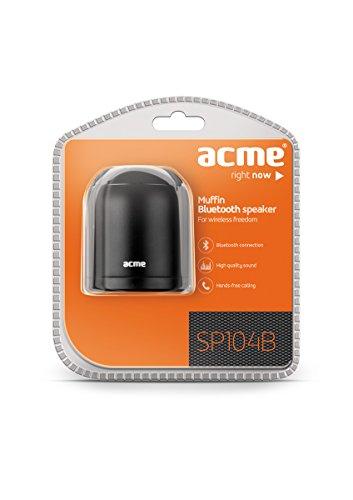 Acme SP104B Muffin Bluetooth Lautsprecher schwarz
