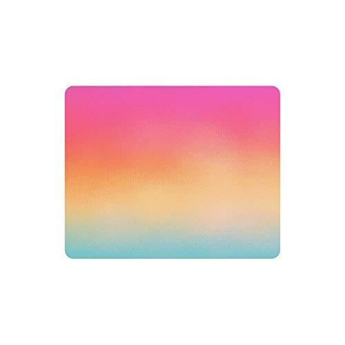 Noise Grain Gradient Buntes Ombre-Rechteck Rutschfestes Gummi-Laptop-Mousepad-Mauspads / Mausmatten-Gehäuseabdeckung mit Designs