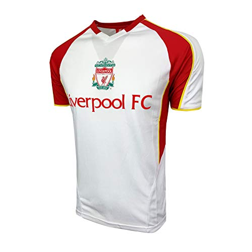 Liverpool White Training Jersey for Kids (Youth Medium 7-9 Years)
