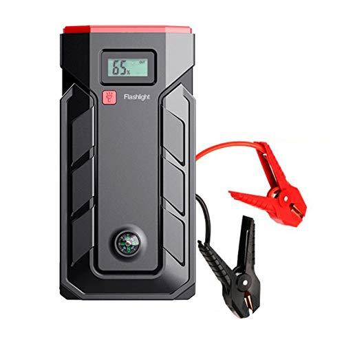Auto Starthilfe Powerbank,2000A/20000mAh Tragbare starthilfegerät für 12V Fahrzeuge, Autobatterie Anlasser mit Quick Charge 3.0, LED Taschenlampe