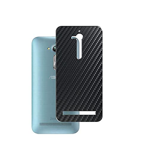 Vaxson 2 Unidades Protector de pantalla Posterior, compatible con Asus zenfone Go ZB500KL ZB500KG, Película Protectora Skin Piel Negro [No Carcasa Case ]