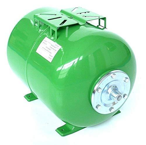 Druckkessel 100 Liter, Größe Höhe 47 cm Länge 69 cm Durchmesser 44 cm. Ausdehnungsgefäß Membrankessel Hauswasserwerk. Max. Druck 10 Bar.