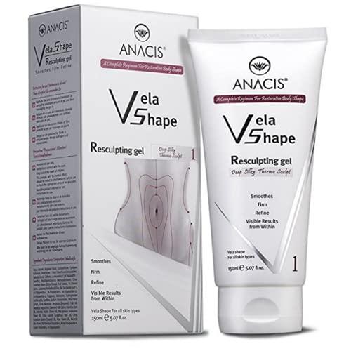Anti Cellulite Crème Raffermissante Gel Restructant Exclusif Formulation Tonifiante Traitement Termo Profond. Anacis - 5,07 oz