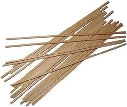 Bâtons en bois pour barbe à papa à la maison. Fabriquées en bois de sapin et de pin, elles sont adaptées au contact alimen...