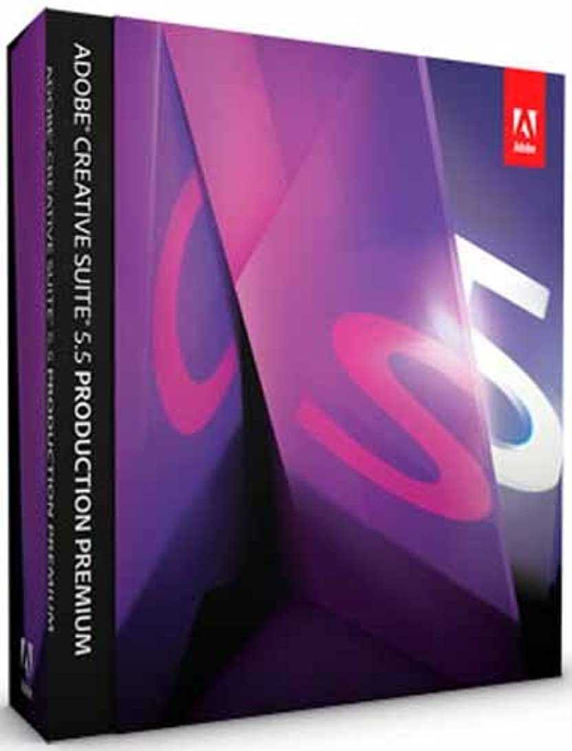 化学薬品脚冊子Adobe Creative Suite 5.5 Production Premium Macintosh版