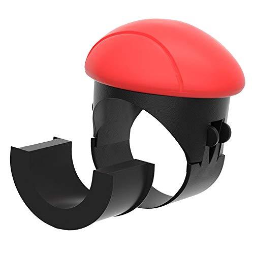 Blesiya Perilla Giratoria Del Volante para Todos Los Automóviles, Tractores, Carros de Golf, Carretillas Elevadoras - Rojo