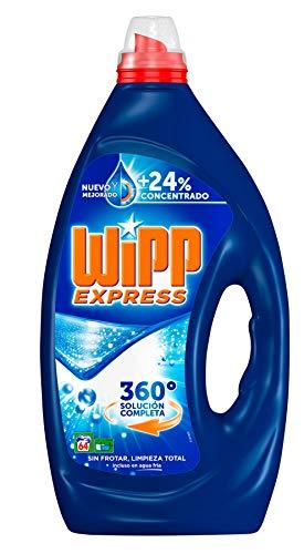 Wipp Express Detergente Líquido Concentrado Azul - 64 Lavados (3,2 L)